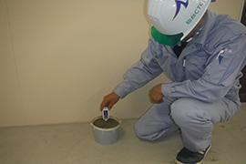 コンクリート温度測定