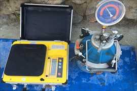 単位水量測定